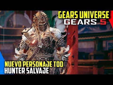 """Gears 5 : Nuevo Personaje TOD """"Hunter Salvaje"""""""