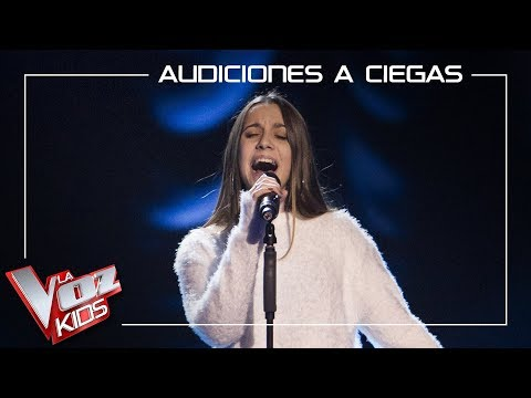 Laura Valle canta 'I will be' | Audiciones a ciegas | La Voz Kids Antena 3 2019