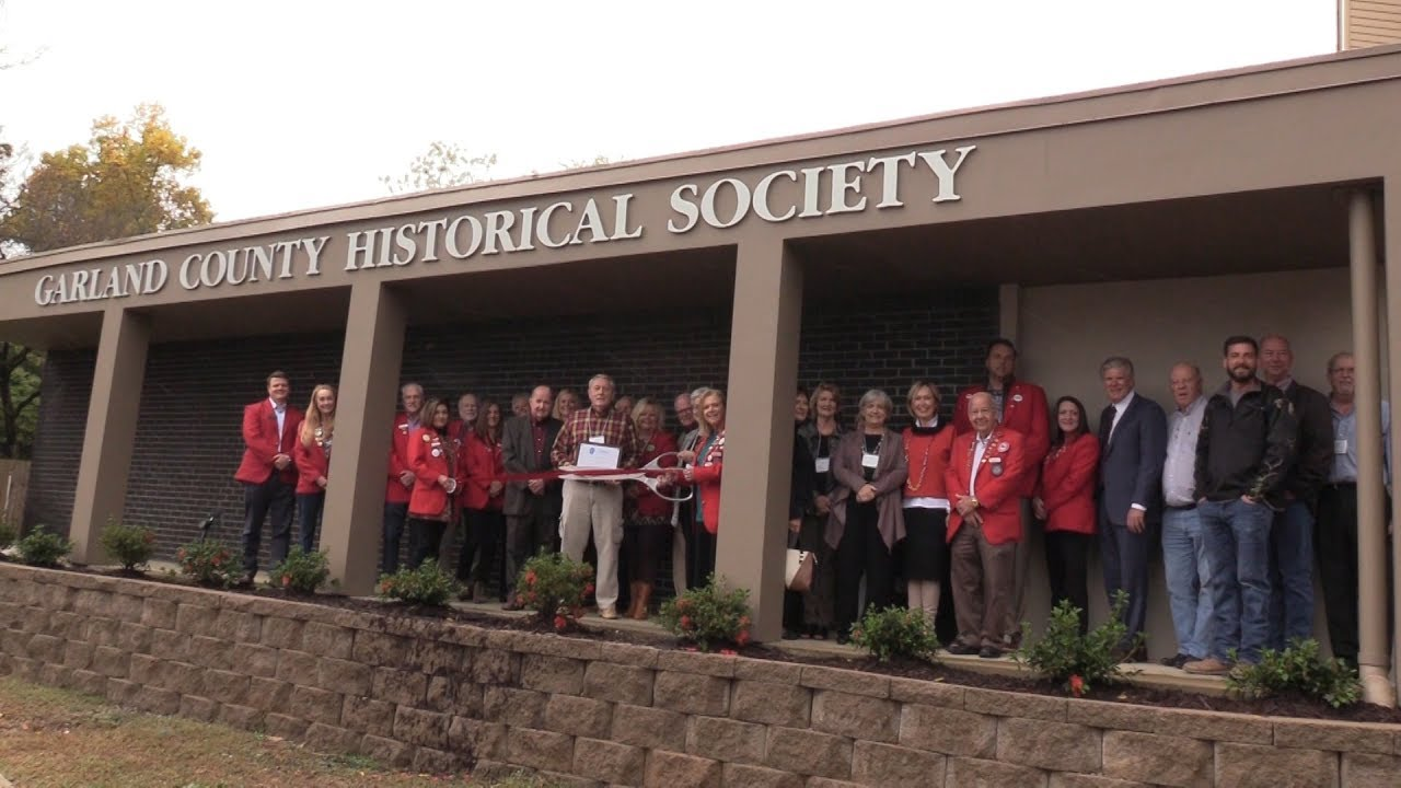 Garland County Historical Society Expansion Ceremony & Ribbon Cutting