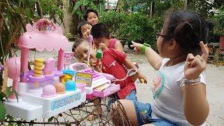 Baby Ice Cream Shop – Trò Chơi Em Bé Bán Kem ❤ ChiChi ToysReview TV ❤ Đồ Chơi Trẻ Em Baby Doli