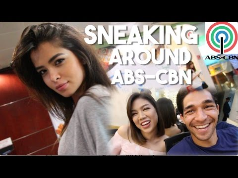 Hunting Down Filipino Artistas at ABS-CBN (Ft. Janina Vela)