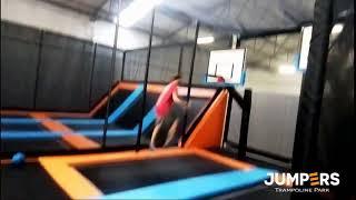 Uauu, melhor que o Jordan - Jumpers Trampolim Parque