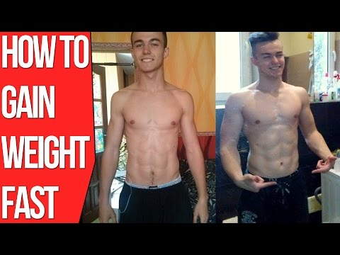 Video How To Gain Weight Fast For Skinny Guys (Bulking Diet Tips)