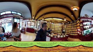 """360 VR видео Тенерифе:Чайный магазин """"LA CABANA DEL TE"""" в Santa Cruz"""