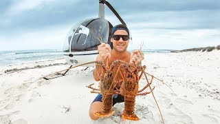 BEST CATCH AND COOK EVER Helicopter To Crazy Remote Australia Rock Lobster - Ep 65