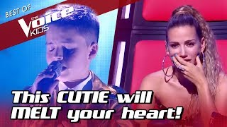 This TALENTED 11-Year-Old in The Voice kids will MELT your HEART