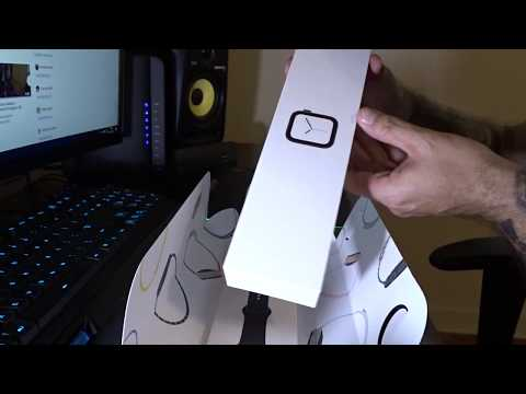 Unboxing Apple Watch Series 4 + Pulseira Case da Supcase