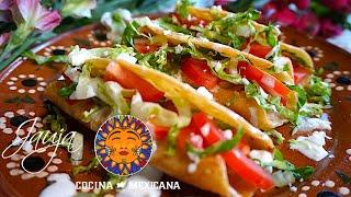 Tacos de Papa Enchilada con Queso ¡Mejores que Nunca!