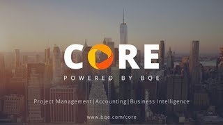 BQE Core - Project Accounting video