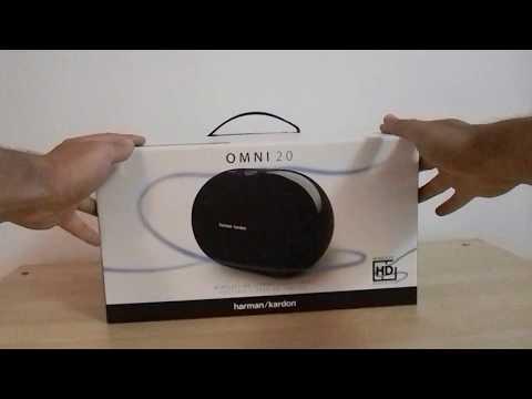 Harman Kardon Omni 20 unboxing review wireless speaker