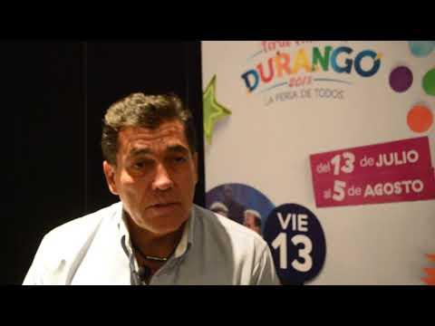 Julio Muciño Pereda resalta la Feria Nacional de Durango