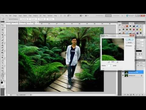 Video Tutorial Photoshop - Mengganti Background Dengan Cepat dan Mudah