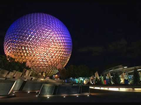 New Spaceship Earth full  Ride Music(Music only)