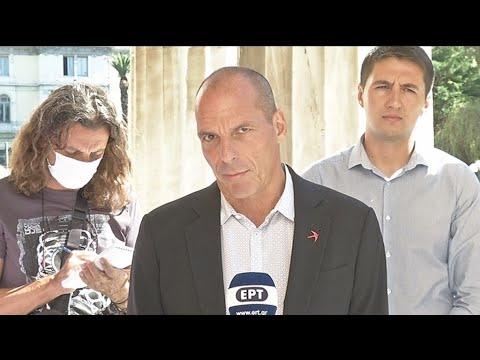 Γ. Βαρουφάκης:Η Μεσόγειος και το Αιγαίο πρέπει να είναι θάλασσα ειρήνης, συνεργασίας και ευημερίας