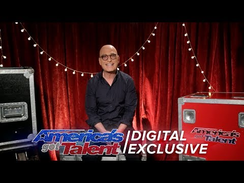 Howie Discusses His Golden Buzzer - America's Got Talent 2017