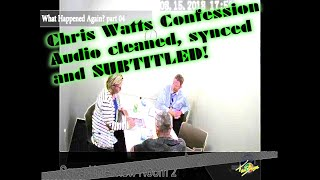 Chris Watts - The Interrogation - Audio Cleaned, Subtitled, Synced