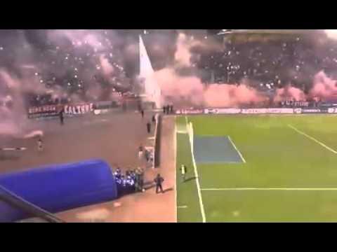 """Wilstermann vs. Peñarol (Recibimiento al ROJO)"" Barra: Gurkas • Club: Jorge Wilstermann"