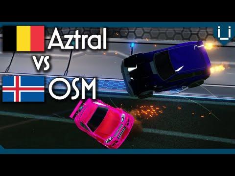 Aztral (Rank 1 EU) vs OSM (Rank 4 EU) | Rocket League 1v1