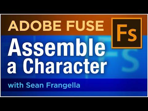 Adobe Fuse CC Tutorial – Assemble a 3D Character (part 1) – Sean Frangella