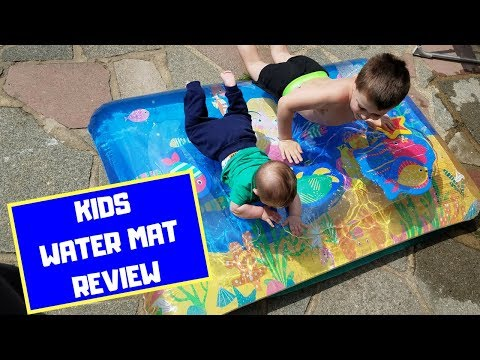 TESCO WATER MAT FOR KIDS REVIEW