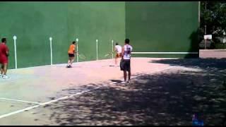 preview picture of video 'Final Torneo Fiestas San Marcos 2011 de San Martín de la Vega de Frontenis'