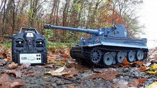 Heng Long TIGER I - RC Panzer (2.4GHz / 1:16)  von Gearbest.com // Testbericht & Testfahrt