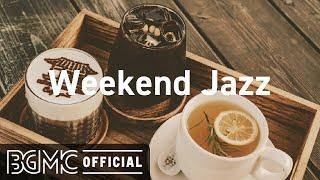 Jazz de fim de semana: música jazz instrumental com ambiente de cafeteria - música de fundo