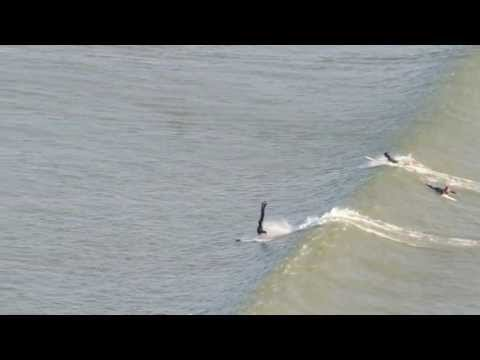 Handstand on a Longboard – Surfing at Saunton 5th May 2013