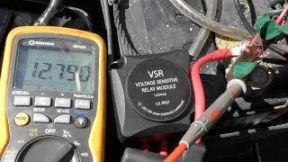 Voltage Sensitive Relay (VSR) installation