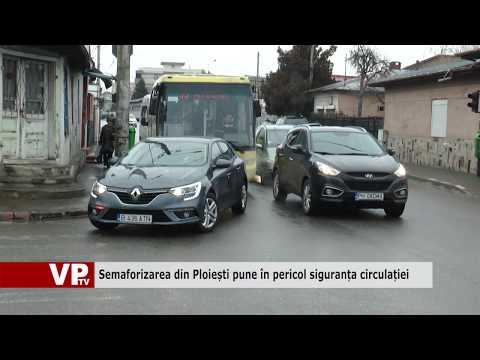 Semaforizarea din Ploiești pune în pericol siguranța circulației