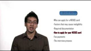 HOW TO APPLY FOR A NEXUS CARD