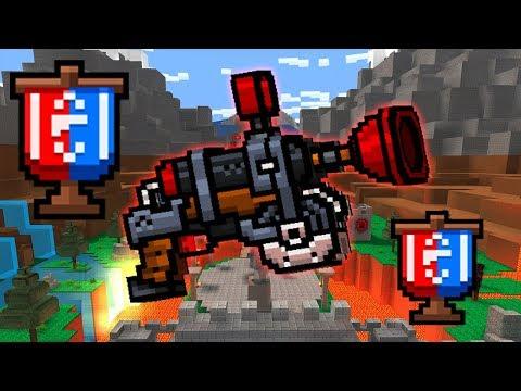 PULLING SUCKER GUN in flag mode LOL its very TOP - Pixel Gun 3D