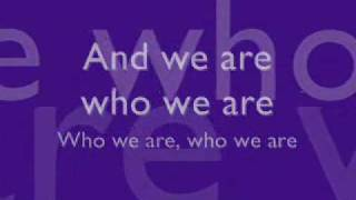 The Cheetah Girl - Who We Are (lyrics)