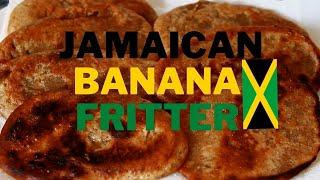Jamaican banana fritter recipe video | Chef Ricardo Cooking