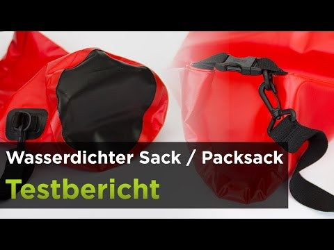 Wasserdichter Sack/Packsack im Test