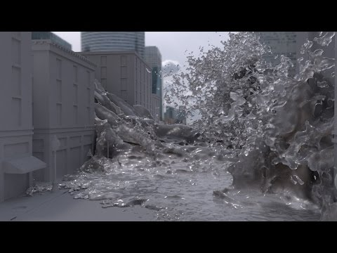 Maya Tutorial Now Available: Flooding a City with Bifrost