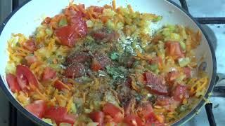 Рецепт приготовления фасоли с овощами на сковороде-вкусно и сытно!