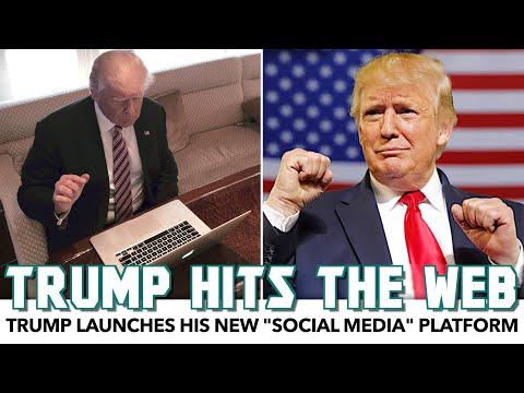 "Trump Launches His New ""Social Media"" Platform, And It's Hilarious"