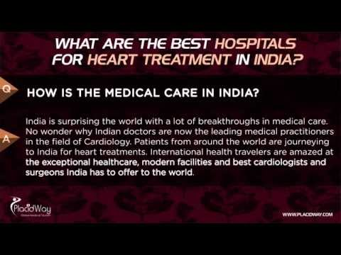 What are the best hospitals for Heart Treatment in India?