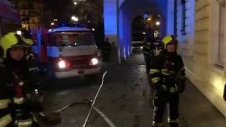 HZS Praha: V pražském Žofíně hořely rozvody elektroinstalace