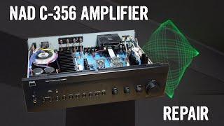 Modern Tech Fail: NAD C 356BEE Amplifier Repair