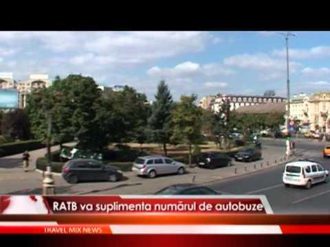 RATB va suplimenta numărul de autobuze
