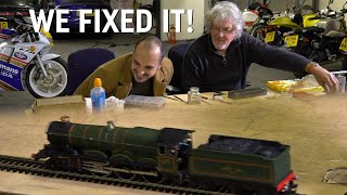 James May fixes Mike's toy train | The final part