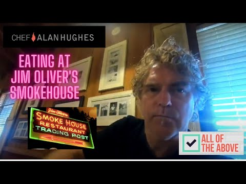 EATING AT THE SMOKE HOUSE WITH CHEF ALAN HUGHES