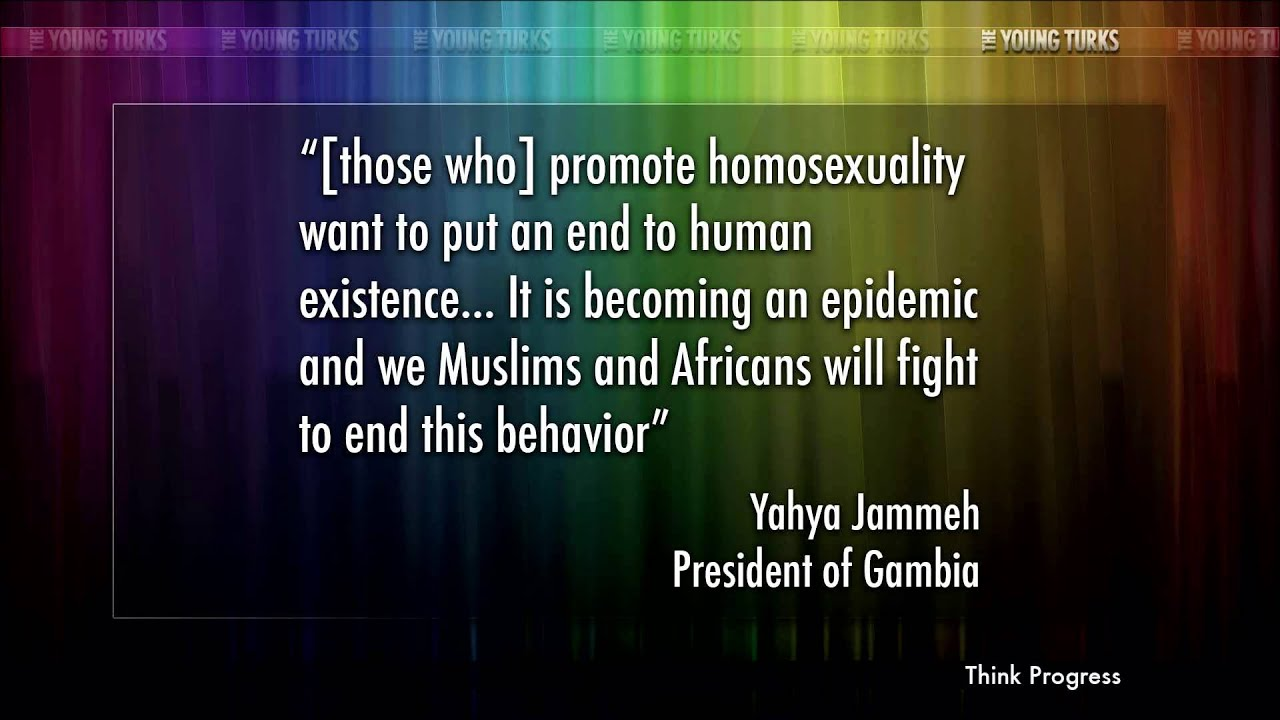 Gambia President: Gays Are Liars, I Will Get Them & I Will... thumbnail