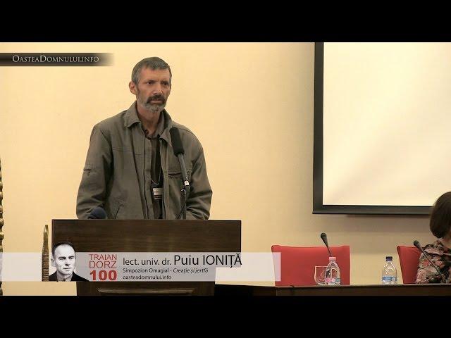 Lect. univ. dr. Puiu IONIȚĂ – Simpozion Omagial Traian Dorz 100 – Cluj, 12 sept. 2013