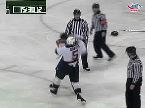 Rob Davison vs. Matt Martin
