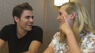 Comic-Con 2016: Paul Wesley & Candice King Tease Steroline Wedding | Toofab