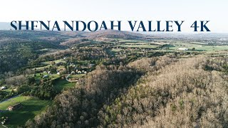 Shenandoah Valley from a Drone 4K Cinematic - - DJI Phantom 4 Pro V2.0