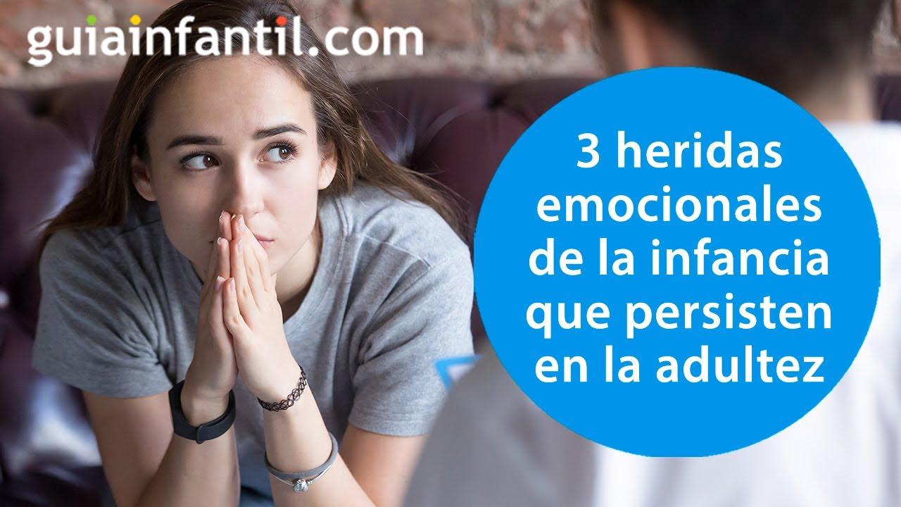 Las 3 heridas emocionales más frecuentes en los niños y las consecuencias de cada una de ellas